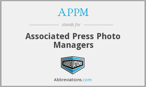 APPM - Associated Press Photo Managers