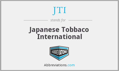 JTI - Japanese Tobbaco International