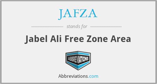 JAFZA - Jabel Ali Free Zone Area