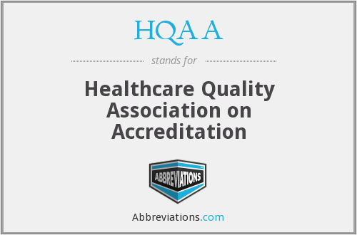 What does HQAA stand for?