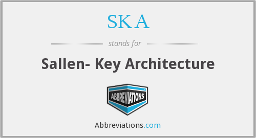 SKA - Sallen- Key Architecture
