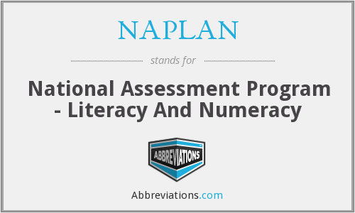 NAPLAN - National Assessment Program - Literacy And Numeracy