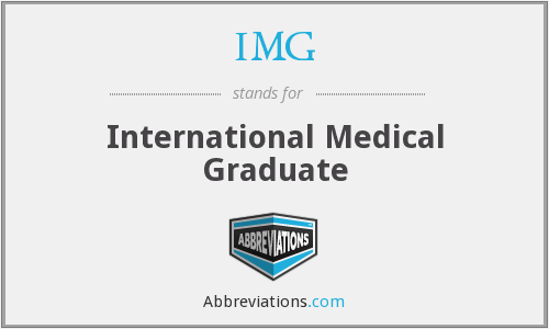 IMG - international medical graduate