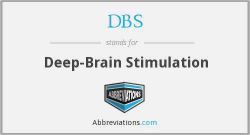 DBS - deep-brain stimulation