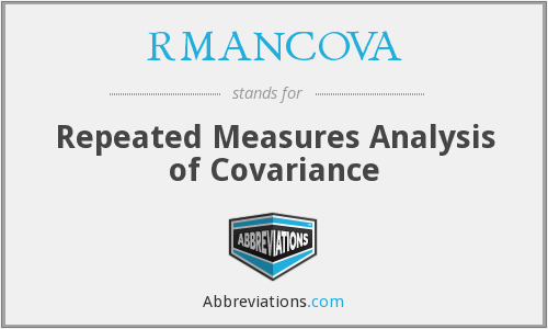 What does RMANCOVA stand for?