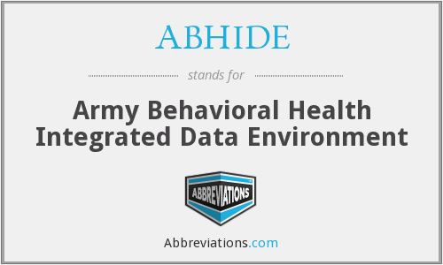 What does ABHIDE stand for?