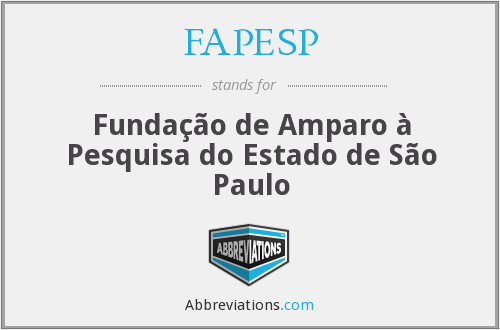 What does FAPESP stand for?