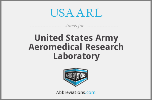 USAARL - United States Army Aeromedical Research Laboratory