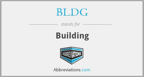 BLDG - Building