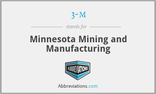 3-m - Minnesota Mining and Manufacturing