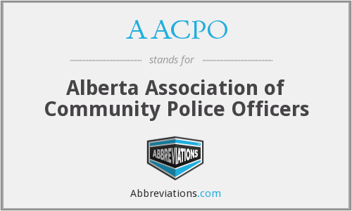 AACPO - Alberta Association of Community Police Officers
