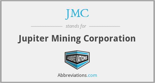 JMC - Jupiter Mining Corporation