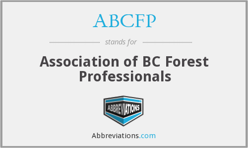 ABCFP - Association of BC Forest Professionals