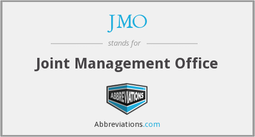 JMO - Joint Management Office
