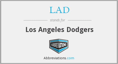 LAD - Los Angeles Dodgers