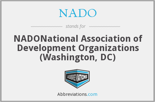 NADO - NADONational Association of Development Organizations (Washington, DC)