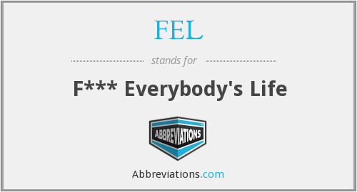 What does FEL stand for?