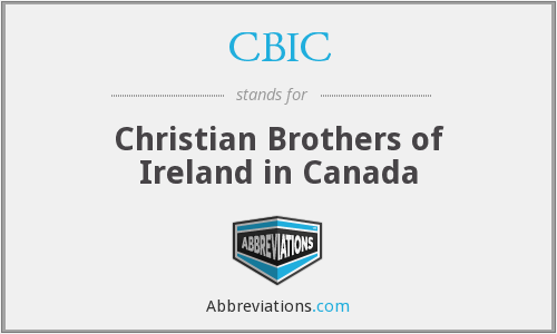 CBIC - Christian Brothers of Ireland in Canada