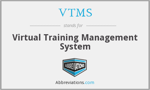 VTMS - Virtual Training Management System
