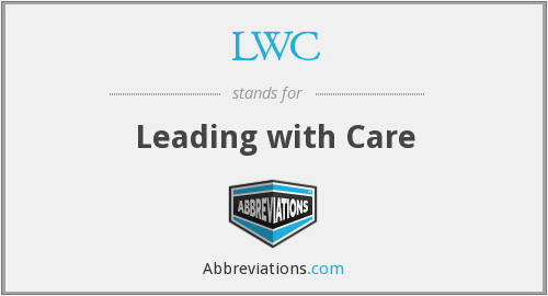 LWC - Leading with Care