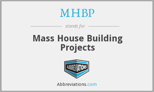 What does MHBP stand for?