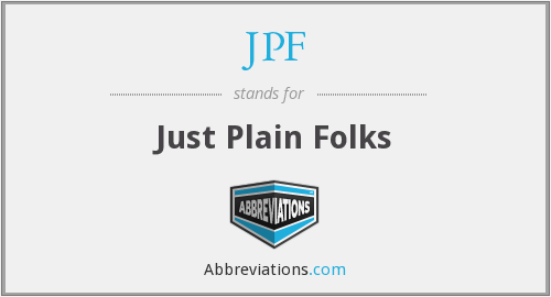 What does JPF stand for?