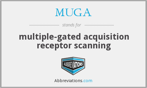 MUGA - multiple-gated acquisition receptor scanning