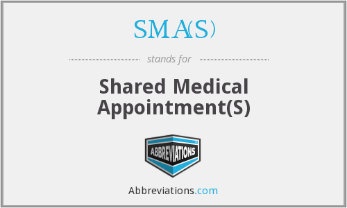 What does SMA(S) stand for?