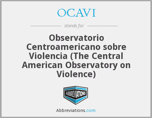 What does OCAVI stand for?