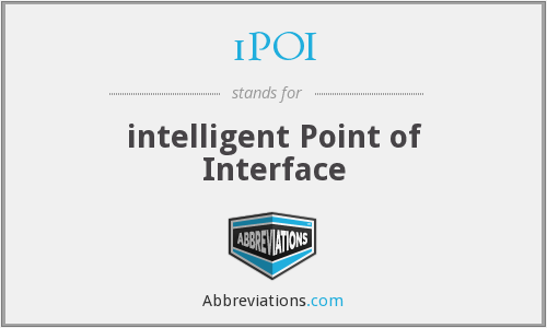 iPOI - intelligent Point of Interface