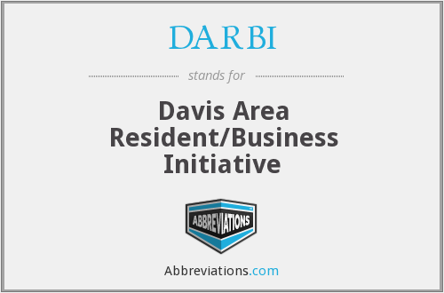 DARBI - Davis Area Resident/Business Initiative