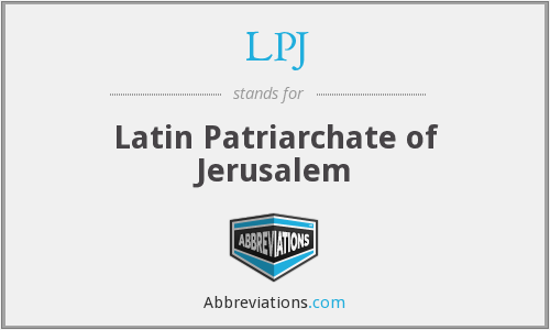 What does LPJ stand for?