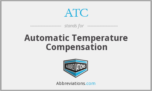 ATC - Automatic Temperature Compensation