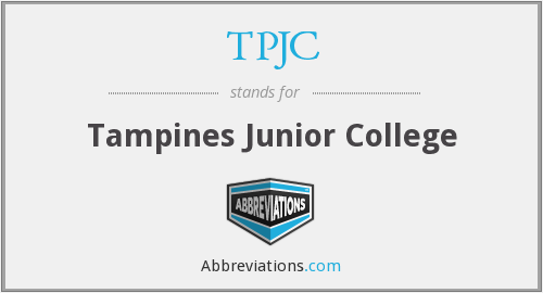 What does TPJC stand for?