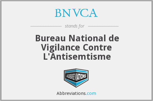 What does BNVCA stand for?