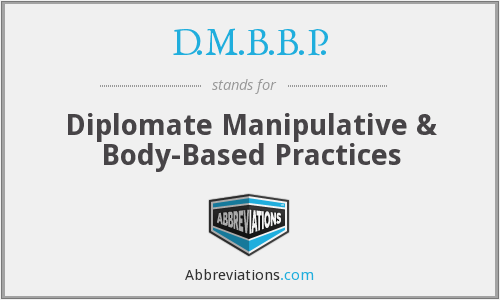 What does D.M.B.B.P. stand for?