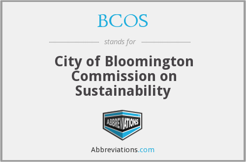 BCOS - City of Bloomington Commission on Sustainability