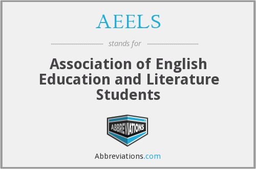 AEELS - Association of English Education and Literature Students
