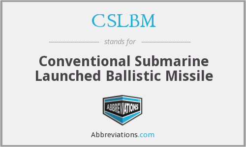 What does CSLBM stand for?