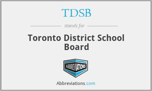 TDSB - Toronto District School Board