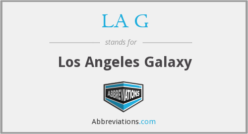 LA G - Los Angeles Galaxy