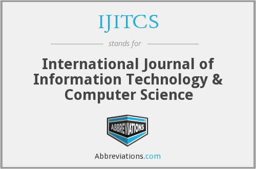 What does IJITCS stand for?