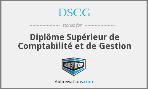 What does DSCG stand for?