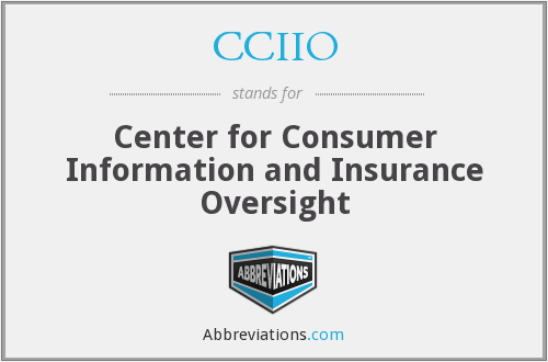 CCIIO - Center for Consumer Information and Insurance Oversight