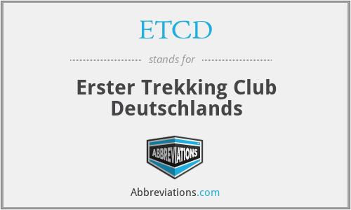 ETCD - Erster Trekking Club Deutschlands