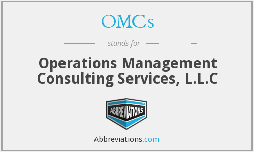 OMCs - Operations Management Consulting Services, L.L.C