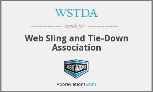WSTDA - Web Sling and Tie-Down Association