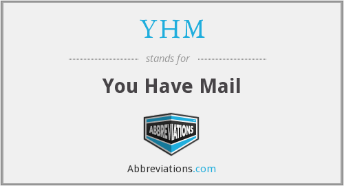 What does YHM stand for?