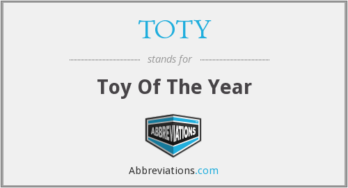 TOTY - Toy Of The Year
