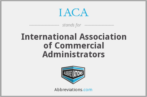 IACA - International Association of Commercial Administrators